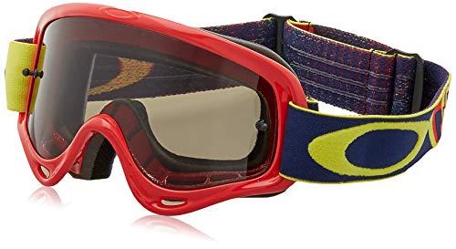 Oakley Mx Brille O-Frame Xs Kickstart Rot Gelb-Dark Grau (One Size , Rot)