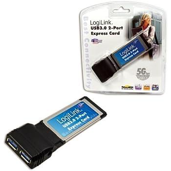 LogiLink PCI-Express Schnittstellenkarte für 2x USB 3.0 Port