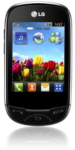 LG T500 ego Handy (7,1 cm (2,8 Zoll) Display, Touchscreen, 2 Megapixel Kamera) schwarz