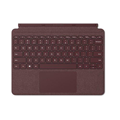 Microsoft Surface Go Signature Type Cover Bordeaux Rot (Deutsches Tastaturlayout;QWERTZ)