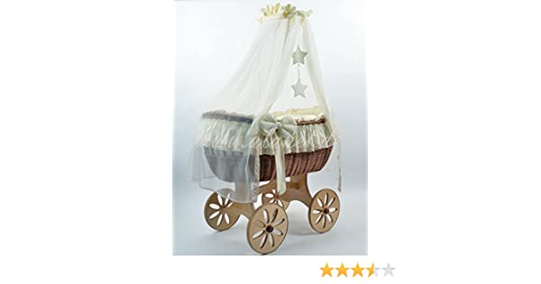 New ophelia star spoke wheels antique cream stubenwagen