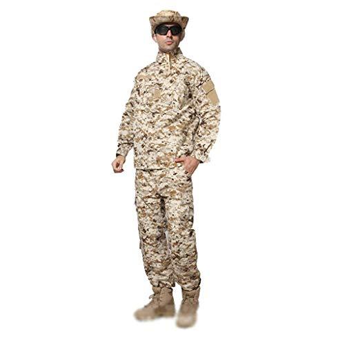 XXHDYR Camouflage Anzug Männer Dschungel versteckt Jagdsport Bergsteigen dünne dünne Jagdanzug Sportanzug Tarnen (Size : XS/165-170/60kg) -