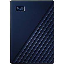Western Digital WD 5 TB My Passport for Mac Portable Hard Drive, adatto per Time Machine, Protezione tramite password, Blu notte