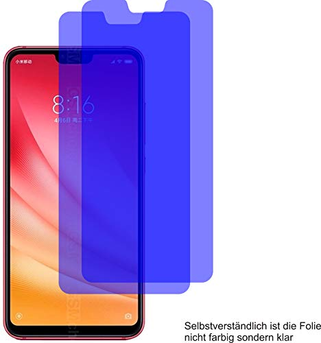 2X Crystal Clear klar Schutzfolie für Xiaomi Mi 8 Lite Bildschirmschutzfolie Displayschutzfolie Schutzhülle Bildschirmschutz Bildschirmfolie Folie