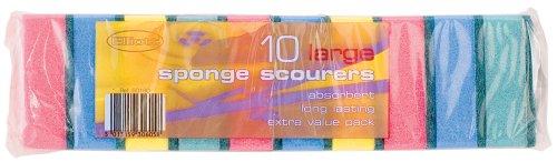 Sponge Scourers (10 Pack)