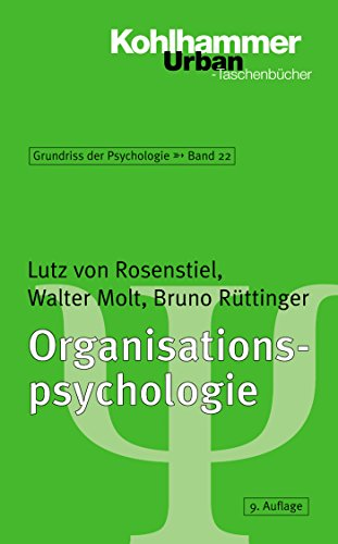 Organisationspsychologie (Urban-Taschenbücher 567)