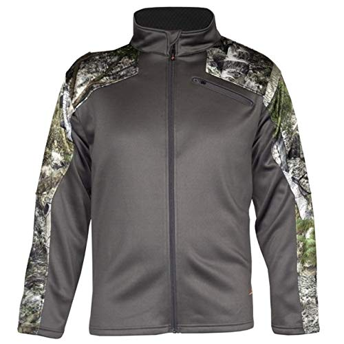 Habit Herren Techshell Dimensional Jacke, MO Mountain Country/Magnet, Medium -