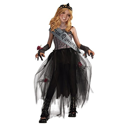 Disfraz Zombi Reina del Baile niña infantil Halloween (7-9 años)
