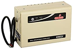 Real Guard 5KVA-TD Wall Mounted Stabilizer for 2 Ton AC (Cream)