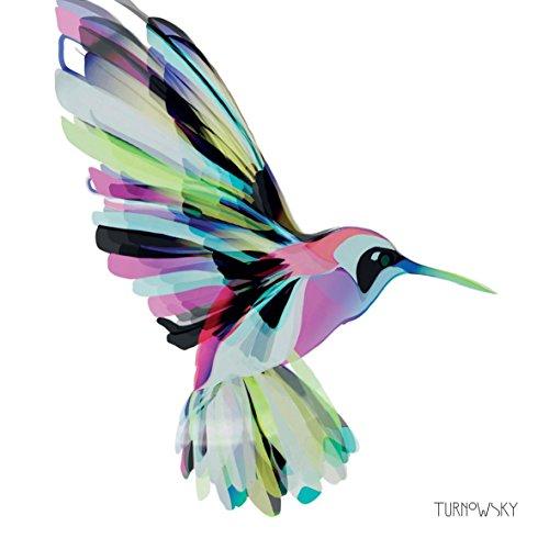 Intensiv Kolibri rosa weiß 3-ply 20 Papierservietten 13