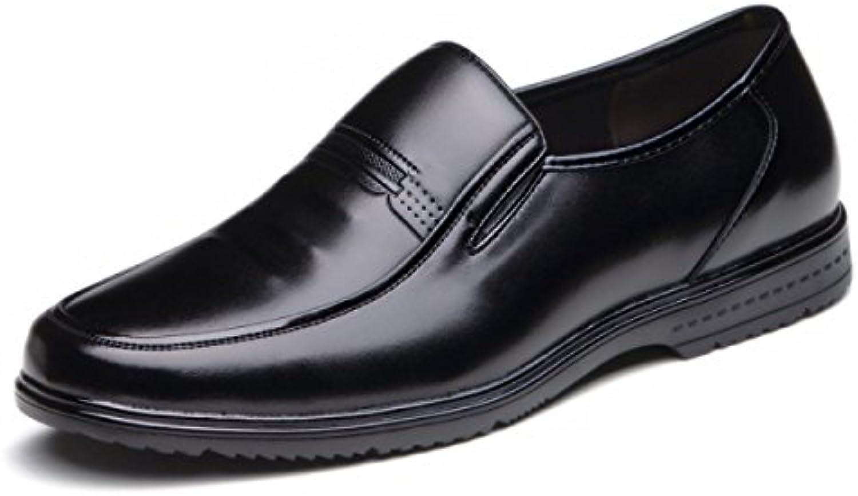 Nuevo Hombres Zapatos De Mediana Edad Los Zapatos Del Padre De Negocios Trajes Fondo Suave Zapatos Individuales  -