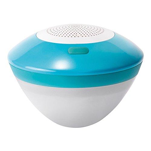 Intex 28625 Schwimmender Lautsprecher mit LED-Licht, Blau