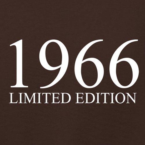 1966 Limierte Auflage / Limited Edition - 51. Geburtstag - Damen T-Shirt - 14 Farben Dunkles Schokobraun