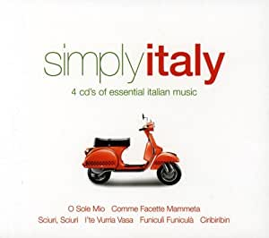 Simply Italy: 4cds of Essential Italian Music