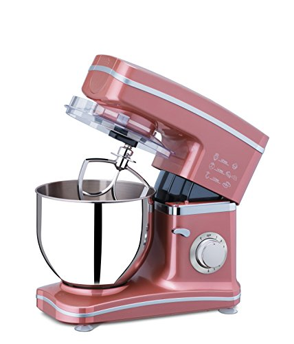 Platini SM01 5.2-Liter 8 Speed 1000-Watt Tilt-Head Stand Mixer (Marsala)
