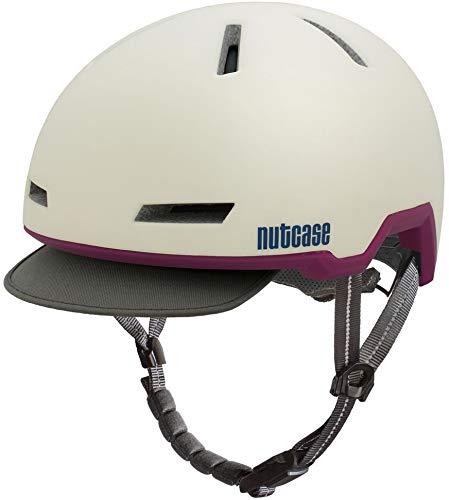 Nutcase Tracer Helmet Shell White Matte Kopfumfang M/L | 56-59cm 2019 Fahrradhelm