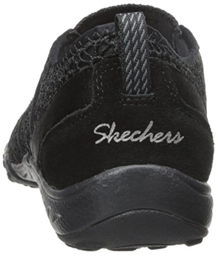 Skechers Skechersbreathe Easy Fortune - Baskets Basses Noires Meadows