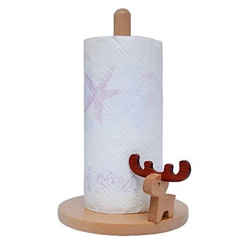 Box Toilettenpapierhalter Toilettenpapierhalter Deutscher Palisander Rollenhalter Bad Küche Papierhandtuchhalter Papierhandtuchhalter Tissue Box (Elch) ( Color : Long Section , Size : 18x28.8cm )
