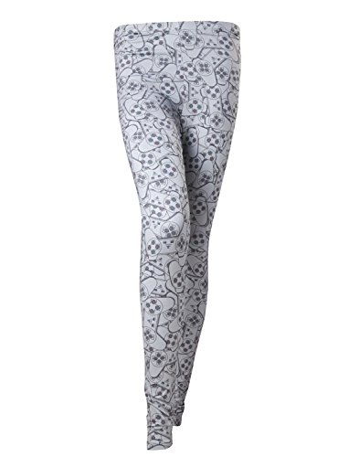 Playstation Leggings -M- all over printed