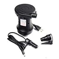 ‏‪Electric Air Pump Air With Car/Home Charger 2 Way Use Air Mattress Pump for Air Mattress Pump Swimming Pools‬‏