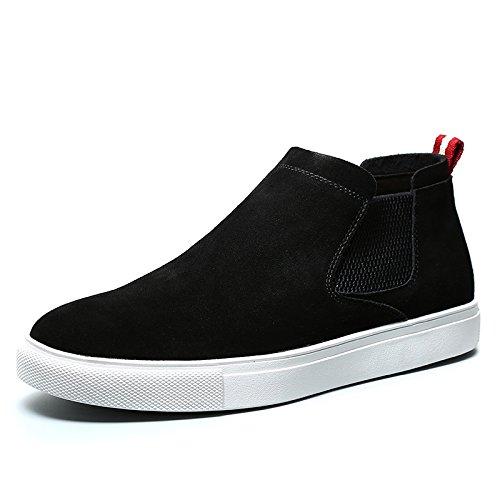 hiver automne coton chaussures classiques tendance casual chaussures en cuir de cuir véritable daim