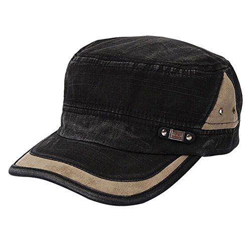 MIOIM® Damen Herren einstellbar Kappe Vintage Hat Unisex Army Baseball Cap Hut Sonnenkappe