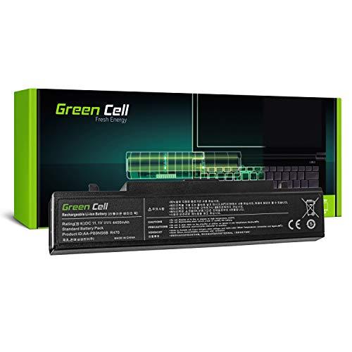 Green Cell® Standard Série AA-PB9NC6B / AA-PB9NS6B Batterie pour Samsung Série 3 et Série R Ordinateurs PC Portables (6 Cellules 4400mAh 11.1V Noir)