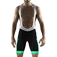 Uglyfrog Ciclismo Hombres Bib Pantalones Cortos de Ciclismo Hombres Transpirable para Ciclismo Correr MTB o Deportes