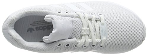 adidas Herren Zx Flux Low-Top Weiß (Ftwr White/Ftwr White/Clear Grey)