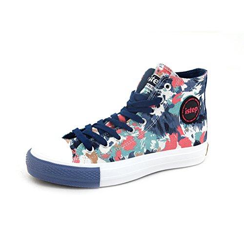 Ciao scarpe di tela per l'autunno/inverno/Ladies scarpe piatte/Scarpe casual studente/Gao Bangchao scarpe-B Lunghezza piede=24.8CM(9.8Inch)