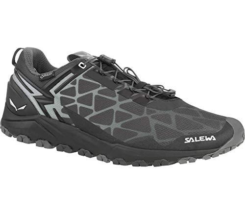 Salewa - Multi Track GTX Herren Mountain Running Schuh (schwarz/Silber) - EU 46 - UK 11 -
