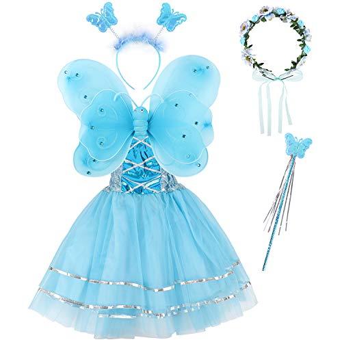 - Blaue Haare Mädchen Kostüm