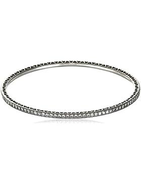 Pandora Damen-Armband Funkelnder Liebes-Armreif 925 Silber Zirkonia weiß - 590511CZ-17
