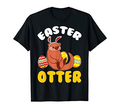 Oster-Otter Not Bunny Meme Illustration Kostüm T-Shirt (Oster Bunny Kostüm Kind)