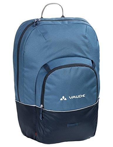 VAUDE Cycle 22, Gepäckträgertasche zum Radfahren, 2 in 1 Officetasche als Rucksack tragbar