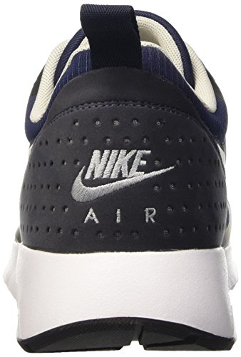 Nike Air Max Tavas, Baskets Basses Homme, Noir, UK Bleu (Midnight Navy/Neutral Grey/Dark Obsidian)