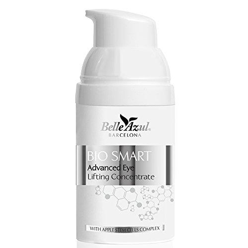 Belle Azul - Bio Smart - Anti-Aging Augengel, Augenpflege reduziert Falten und fade, müde Augen, Kollagen und Aloe Vera spenden optimale Feuchtigkeit, Polstern und Glätten die Augenpartie, 30ml. -