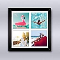Cuadro Collage 4 fotos, Incluye Marco de Madera. Inmortaliza tus más bellas fotografías en