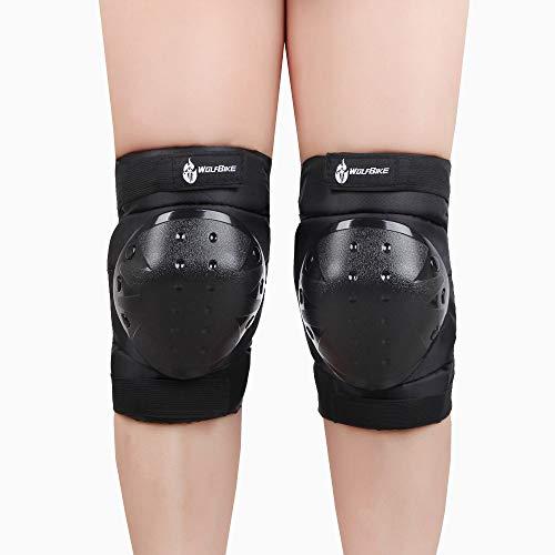 WOSAWE Sport schutzausrüstungen Sicherheit Pads Safeguard (Knie/Ellenbogen) für Erwachsene Roller Fahrrad BMX Fahrrad Skateboard Extreme Sports Outdoor Sports (BC311 Knie Pads) (Erwachsene Ellenbogen-pads Skateboard)