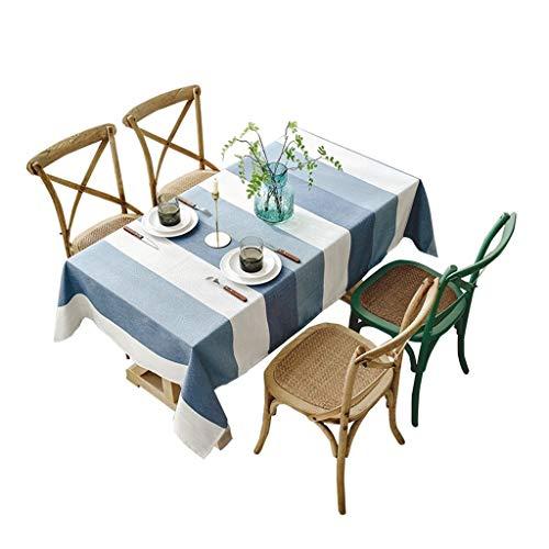 Manteles Mantel - Paño tabla rectangular borla lino