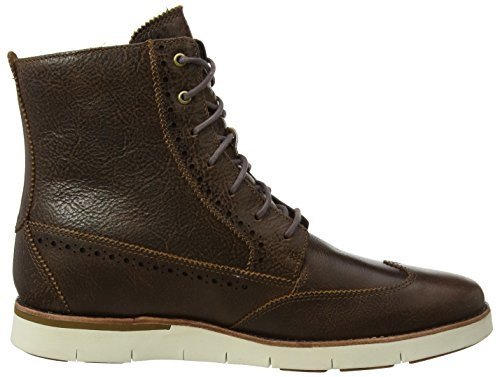 Timberland Men s Preston Hills 6 Inch Brogue Boot  Brown  Light Potting Soil   10 UK