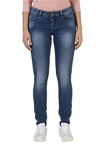 Timezone Damen Skinny Jeans Tight Aleena, Blau (Bright Blue Wash 3151), W30/L28