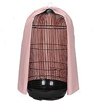 Cubierta universal para jaula de pájaros con forma de cúpula redonda, cubierta de nailon grueso para jaula de loros, jaulas de pájaros