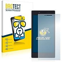 BROTECT AirGlass Protector Pantalla Cristal Flexible Transparente para Lenovo P70 Protector Cristal Vidrio - Extra-Duro, Ultra-Ligero, Ultra-Claro