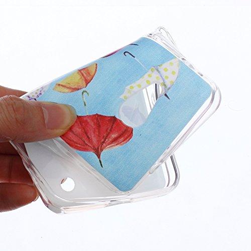 Voguecase® Per Apple iPhone 5 5G 5S, Custodia fit ultra sottile Silicone Morbido Flessibile TPU Custodia Case Cover Protettivo Skin Caso (Fiore pizzo) Con Stilo Penna pizzo Fiore / Nero