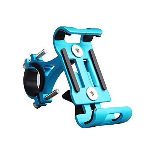 [High Guality Bicycle Accessoires]-Universal Aluminum Non Skid Motorcycle Fahrrad Fahrrad Lenkrad Mount Phone Holder