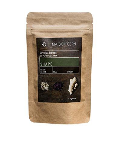 Superfood Kaffee | Shape | Bio Kaffee-Mischung mit Ingwerpulver, grünem Kaffee und Acai um die...
