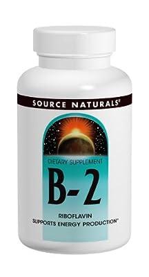 Source Naturals Vitamin B-2, 250 Tabs, 100 Mg from Source Naturals