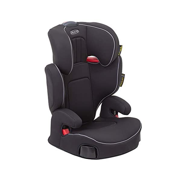 Graco Assure Highback Booster Car Seat, Group 2/3, Black Graco For children 15 to 36kg (approx. 4 to 12 years) Safety surround side impact technology, which gives your child the best head and body protection Built-in armrest and soft seat cushions add comfort to every journey 2