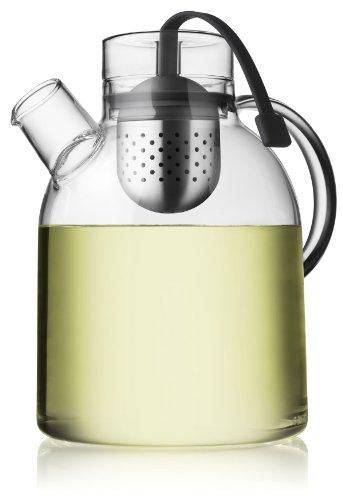 men-u Menu Bouilloire Théière en verre avec infuseur à thé 1,5L